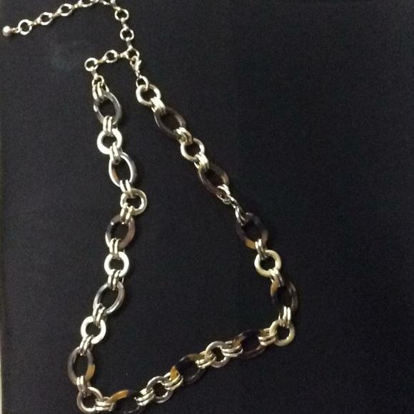 Gold /& Tortoise Shell Chain Belt